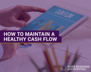 how to maintain a healthy cashflow