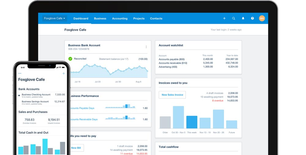 xero accounting software for creatives in London